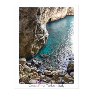 Cave of the Turks - Italy Postcard