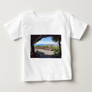 Cave outlook on sea and village on Madeira Baby T-Shirt