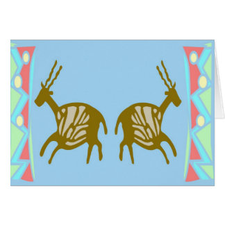 Cave Painting Stationery Note Card