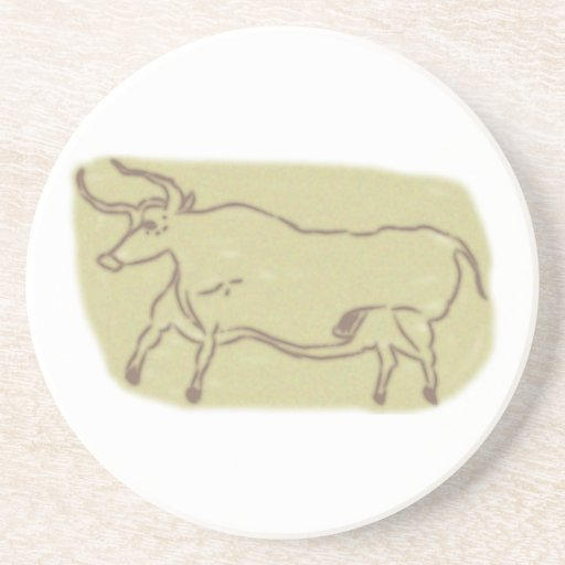 Cave painting cave painting drink coaster