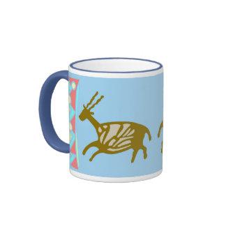 Cave Painting Deers Mug
