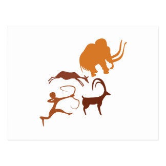 Cave Painting Postcard
