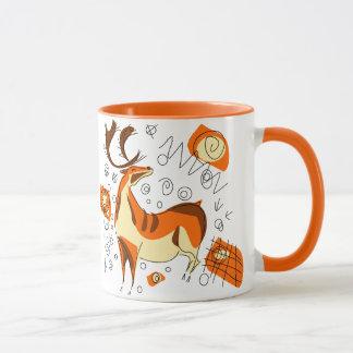 Cave Painting With Entoptics Mug
