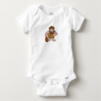 Caveman Cartoon Baby Onesie