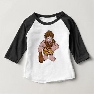 Caveman Cartoon Baby T-Shirt