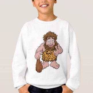 Caveman Cartoon Sweatshirt