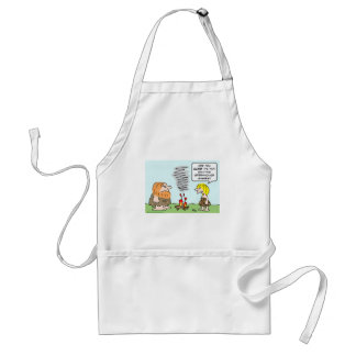 caveman fire greenhouse gases emission aprons