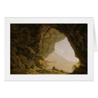 Cavern, Near Naples, 1774 (oil on canvas) Card