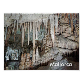 caves of Majorca, poster