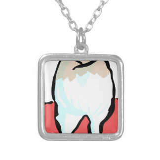 Cavity Silver Plated Necklace
