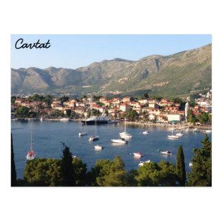 Cavtat, Croatia Postcard