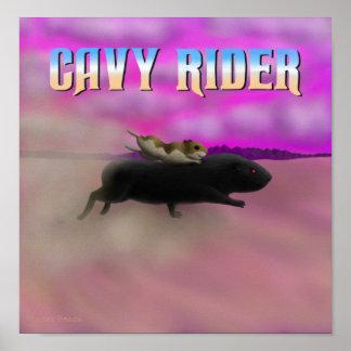 Cavy Rider Poster