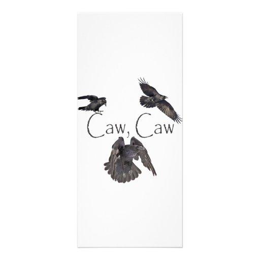 Caw Caw Rack Card