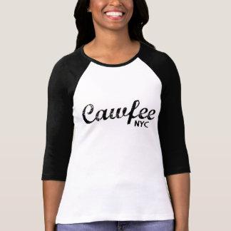 Cawfee funny New York tshirt
