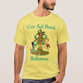 Cay Sal Bank, Bahamas with Coat of Arms T-Shirt