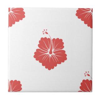 Cayenne Flower Pattern 3 Tile