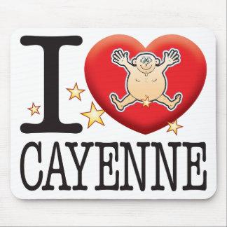 Cayenne Love Man Mouse Pad