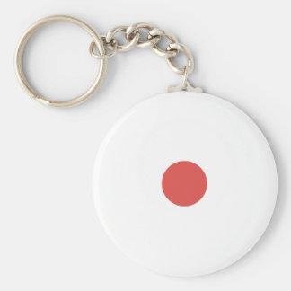 Cayenne Polkadots Small.png Keychain