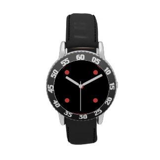 Cayenne Polkadots Small.png Wrist Watches