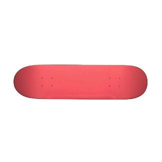 Cayman Coral-Peach-Melon-Pink Tropical Romance Skate Board Decks