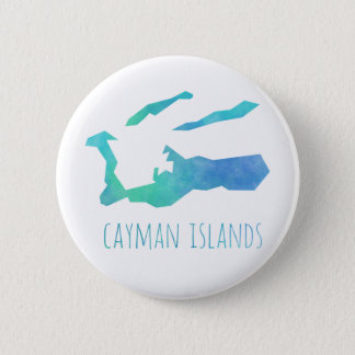 Cayman Islands 6 Cm Round Badge