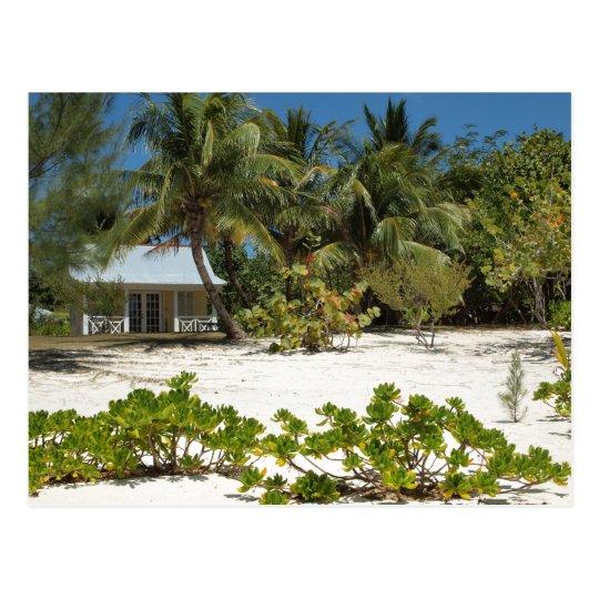 Cayman Islands Beach House Postcard