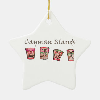 Cayman Islands Ceramic Ornament