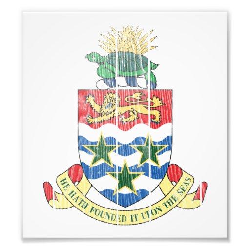 Cayman Islands Coat Of Arms Photograph