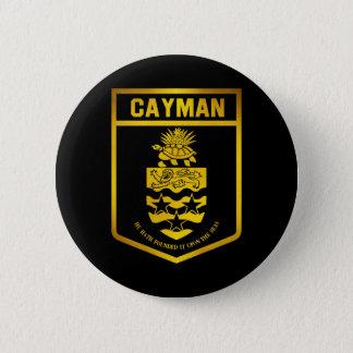 Cayman Islands Emblem 6 Cm Round Badge