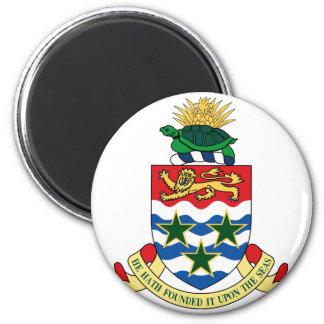 cayman islands emblem 6 cm round magnet