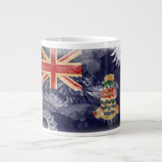 Cayman Islands Flag Large Coffee Mug