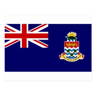 Cayman Islands Flag Postcard