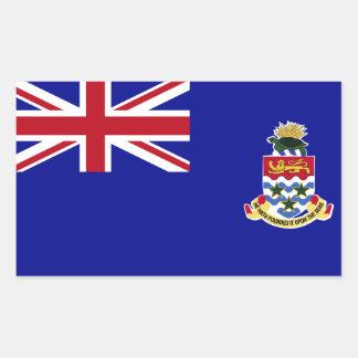 Cayman Islands Flag Rectangular Sticker