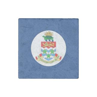 Cayman Islands Flag Stone Magnet