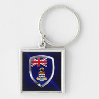 Cayman Islands Mettalic Emblem Key Ring