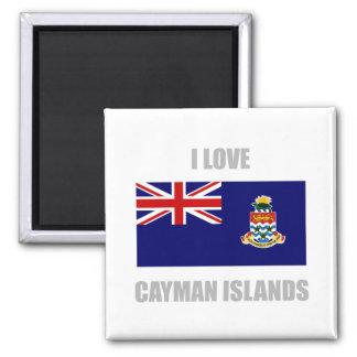Cayman Islands Square Magnet