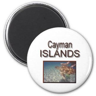 Cayman Islands Turtle 6 Cm Round Magnet