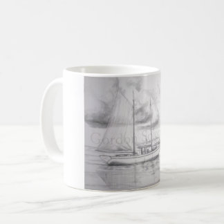 Cayman schooner coffee cup