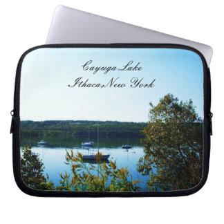CAYUGA LAKE, ITHACA, NEW YORK mouse pad Laptop Sleeve