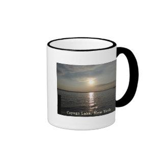 Cayuga Lake Sunset Mugs