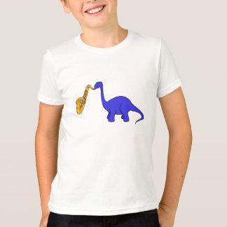 CB- Dinosaur Playing the Sax Shirt