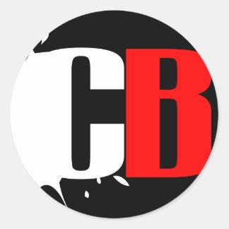 CB Gaming sticker