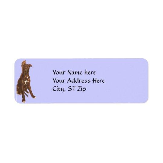CB- Great Dane Address Labels