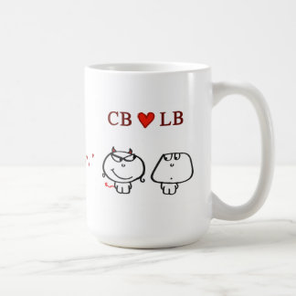 """CB heart LB"" Coffee Mug"