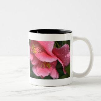 CB- Pink Camellia Mug