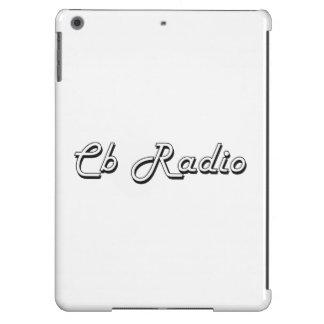 Cb Radio Classic Retro Design iPad Air Covers