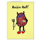 CB- Raisin Hell! Card