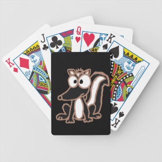 CB- Silly Skunk Cartoon Poker Deck