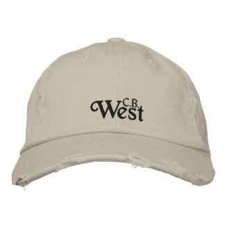 CB West Embroidered Hat