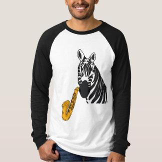 CB- Zebra Playing the Saxophone Shirt